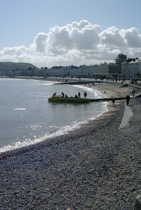 an image of Llandudno beach