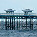 An image of Pier on a cold bank holiday