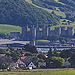 An image of Conwy, as seen from Llandudno